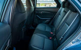 Mazda CX-30 2019 road test review - rear seats