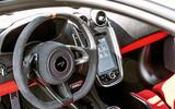 McLaren 600LT 2018 review - dashboard