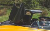 McLaren 600LT Spider 2019 road test review - roof folding