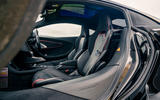 11 McLaren GT 2021 road test review cabin