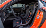 Mercedes-AMG GT Black Series road test review - cabin