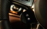 Mercedes-AMG GT four-door Coupé 2019 road test review - steering wheel shortcuts