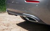 Mercedes-Benz A-Class 2018 road test review exhausts
