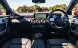 Mercedes-Benz CLA 2019 road test review - dashboard