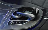 Mercedes-Benz CLS 400d 2018 review centre console