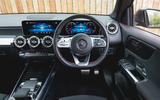 Mercedes-Benz GLB 2020 road test review - dashboard