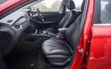 MG 5 SW EV 2020 Road test review - cabin