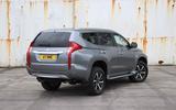 Mitsubishi Shogun Sport 2018 road test review static rear