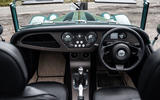 Morgan Plus Four 2020 road test review - dashboard