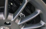 Morgan Plus Six 2019 road test review - brake calipers