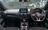 Nissan Juke 2020 road test review - dashboard