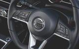Nissan Micra N-Sport 2019 road test review - steering wheel