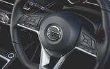 Nissan Micra N-Sport 2019 road test review - steering wheel