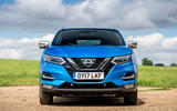 Nissan Qashqai road test review static nose