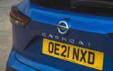 11 Nissan Qashqai 2021 RT boot badge