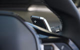 Peugeot 508 SW Hybrid 2020 road test review - paddle shifters