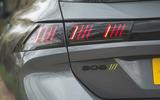 11 Peugeot 508 PSE SW 2021 RT rear lights