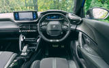 Peugeot e-2008 2020 road test review - dashboard