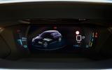 Peugeot e-208 2020 road test review - instruments