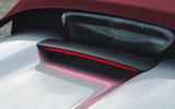 Porsche 718 Spyder 2020 road test review - rear window