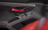 Porsche 718 Cayman GT4 2019 road test review - door pulls