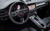 Porsche Macan Turbo 2019 road test review - dashboard