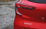 Renault Captur 2020 road test review - rear lights