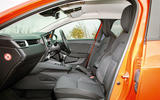 Renault Clio 2019 road test review - cabin