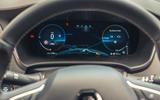 11 Renault Megane E Tech PHEV road test 2021 instruments