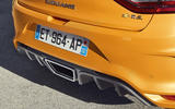 Renault Megane RS 280 2018 road test review rear diffuser