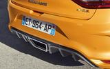 Renault Megane RS 280 2018 road test review rear diffuser