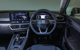 Seat Leon 2020 road test review - dashboard