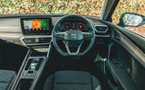 Seat Leon eHybrid 2020 road test review - dashboard