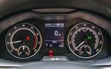 Skoda Scala 2019 road test review - instruments