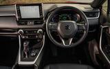 11 Suzuki Across 2021 road test review dashboard