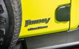 Suzuki Jimny 2018 road test review - rear AWD badge