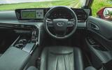 11 Toyota Mirai 2021 RT dashboard