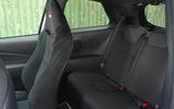 Toyota Yaris GRMN rear seats