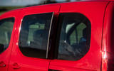 Vauxhall Combo Life 2018 road test review - rear windows