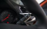 Vauxhall Corsa 2020 road test review - windscreen wiper controls