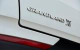 Vauxhall Grandland X Hybrid4 2020 road test review - rear badge