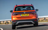 Volkswagen T-Cross 2019 review - cornering rear