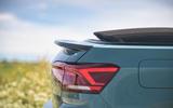 Volkswagen T-Roc Cabriolet 2020 road test review - rear lights