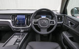 Volvo V60 2018 road test review dashboard