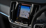 Volvo V90 T6 Recharge PHEV 2020 road test review - infotainment
