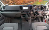 Volkswagen Grand California 2020 road test review - dashboard