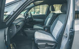 11 VW ID 3 2021 road test review front seats