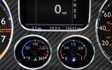 Bentley Continental Supersports instrument cluster