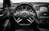 Mercedes-AMG ML 63 dashboard