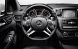 Mercedes-AMG ML 63 dashboard